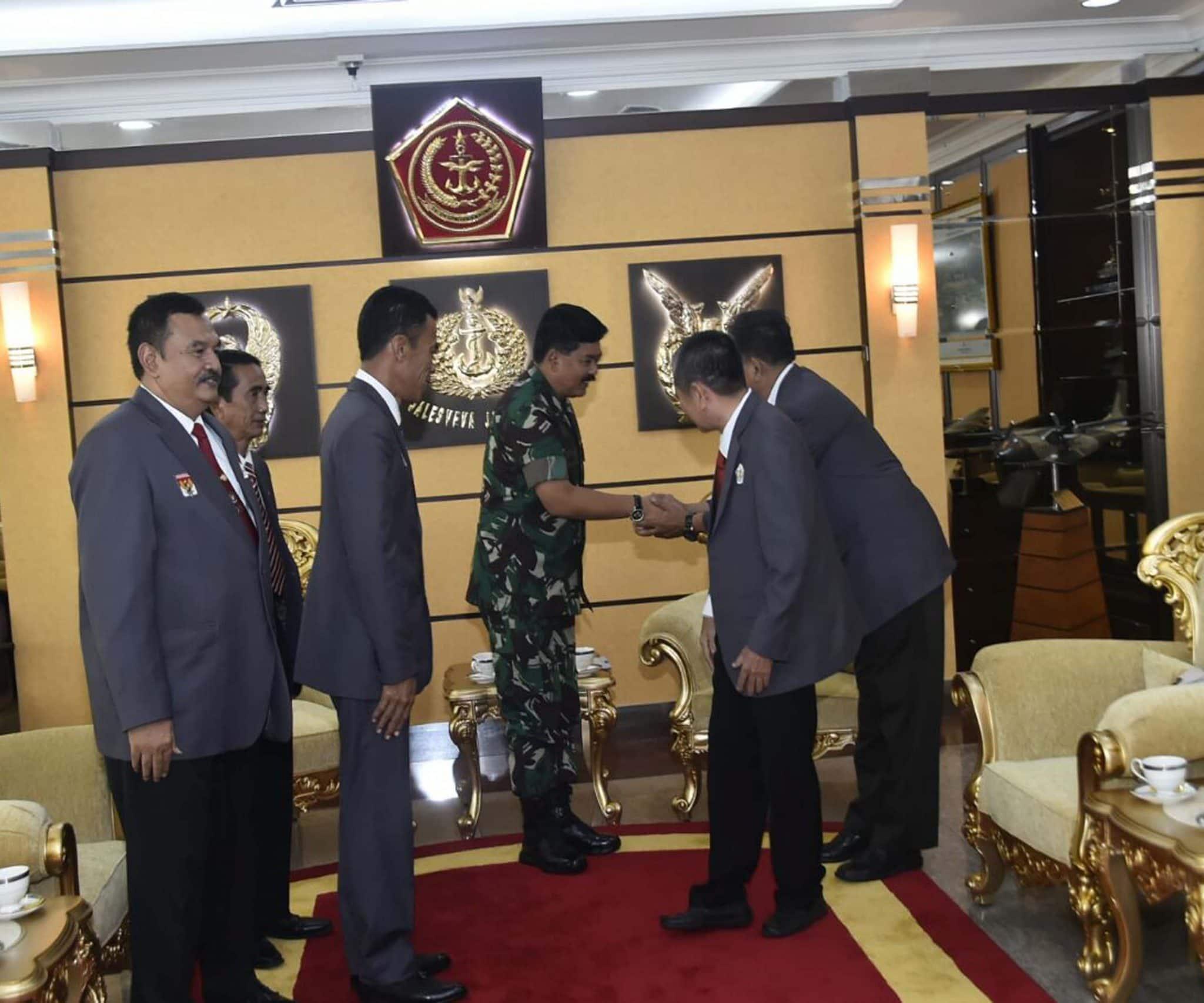 Panglima TNI : Fasilitas TNI Dapat Digunakan Demi Prestasi Atlet Indonesia