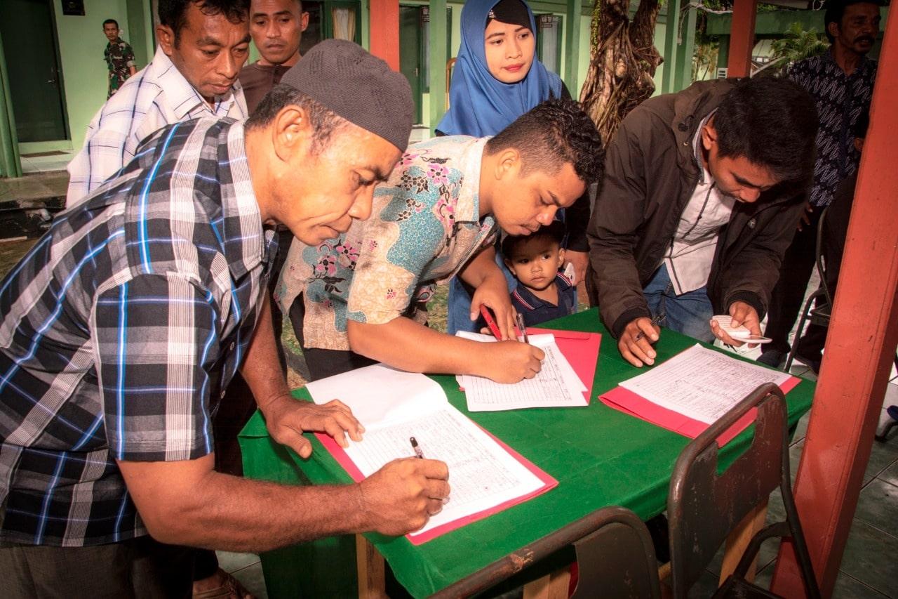 Korem 152/Babullah Gelar Pertemuan Dengan Orang Tua Calon Prajurit