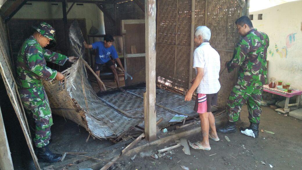 TMMD ke-101, Kodim 0734/Yogyakarta Bedah Rumah Kasidjan