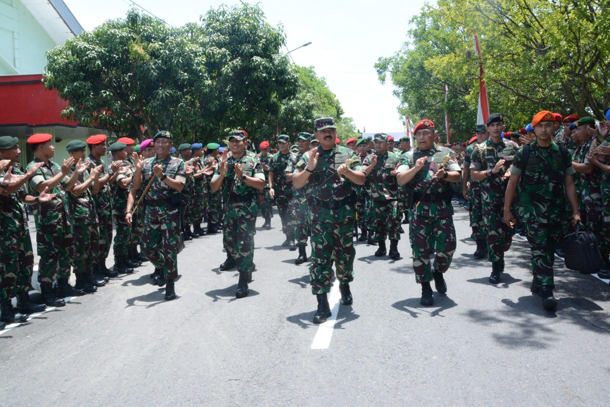 Panglima TNI : Prajurit Harus Meningkatkan Kualitas dan kapasitas Kerjanya