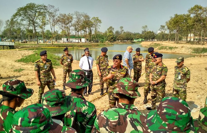 45 Prajurit TNI Laksanakan Peacekeeping Exercise Shanti Doot di Bangladesh