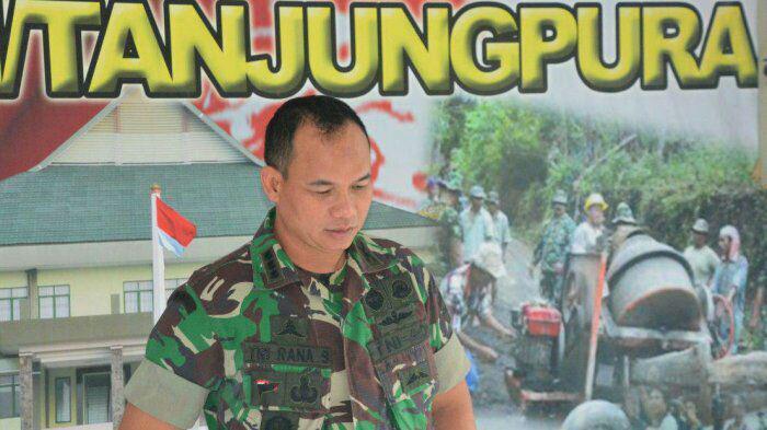 TNI Gelar Gerakan Nasianal Menanam Pohon di Karo
