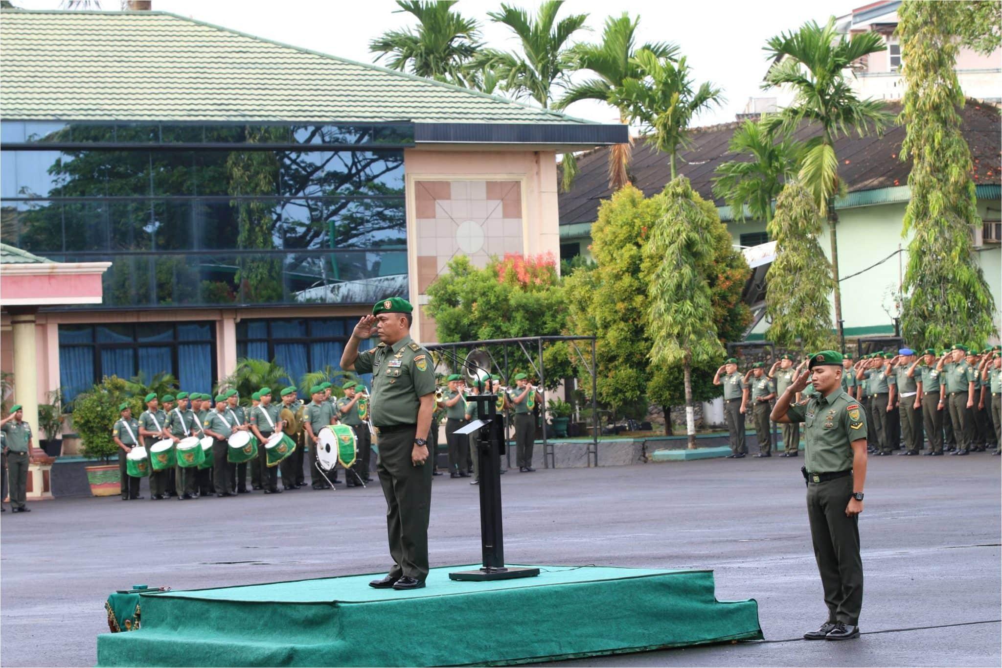 Pangdam II/Swj Ingatkan Prajurit dan PNS Junjung Tinggi Netralitas TNI