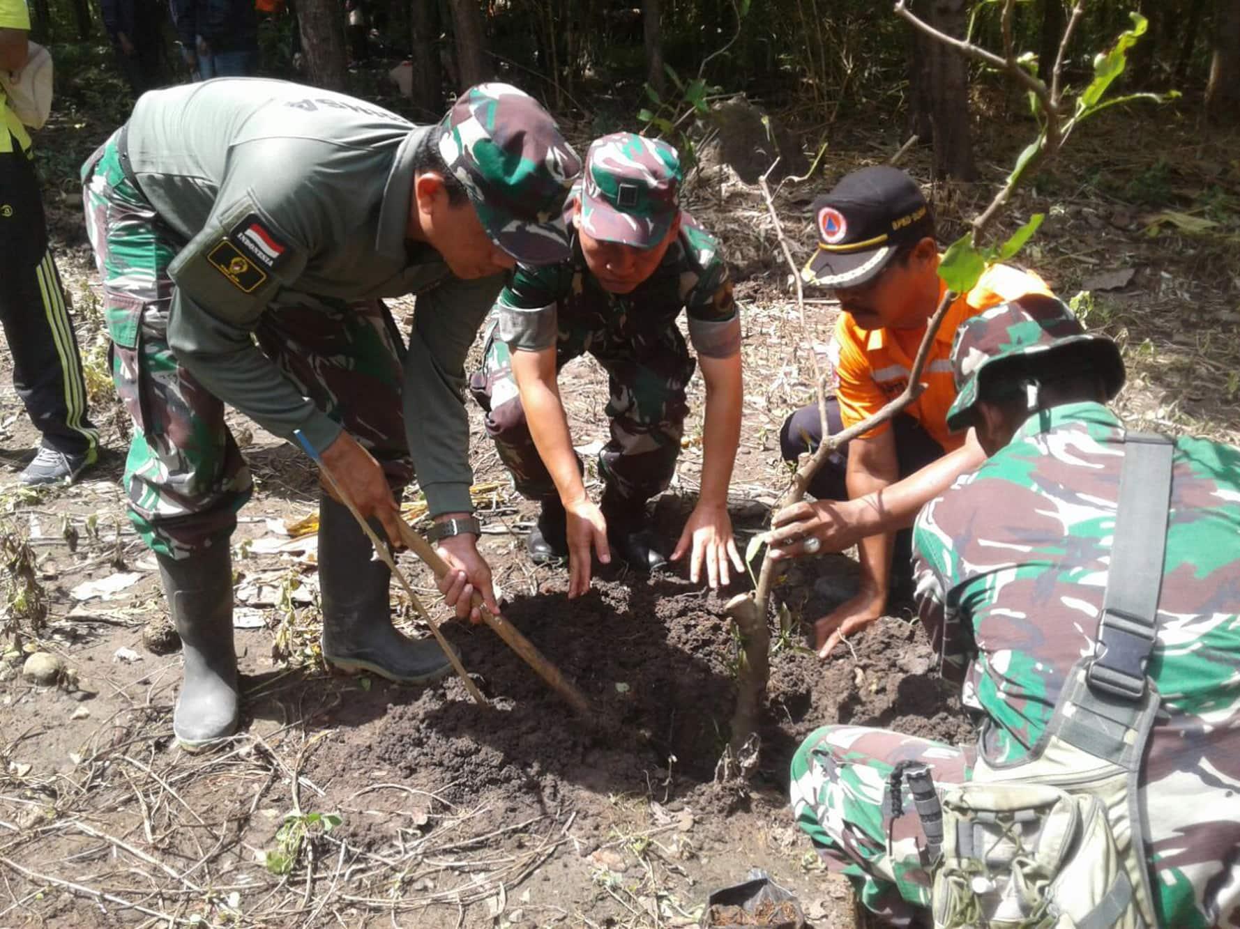 Kodim Demak Gelar Gerakan Menanam 5000 Pohon