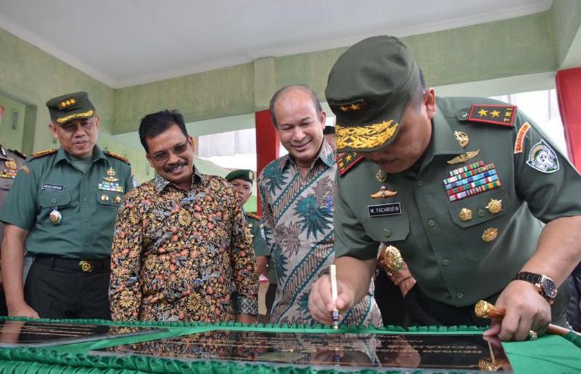 Pangdam IM Resmikan Kodim 0117/Aceh Tamiang