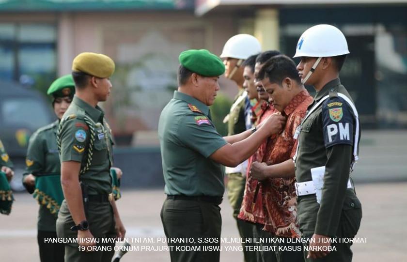 Tak Pernah Surut, TNI AD Perangi Narkoba !!!