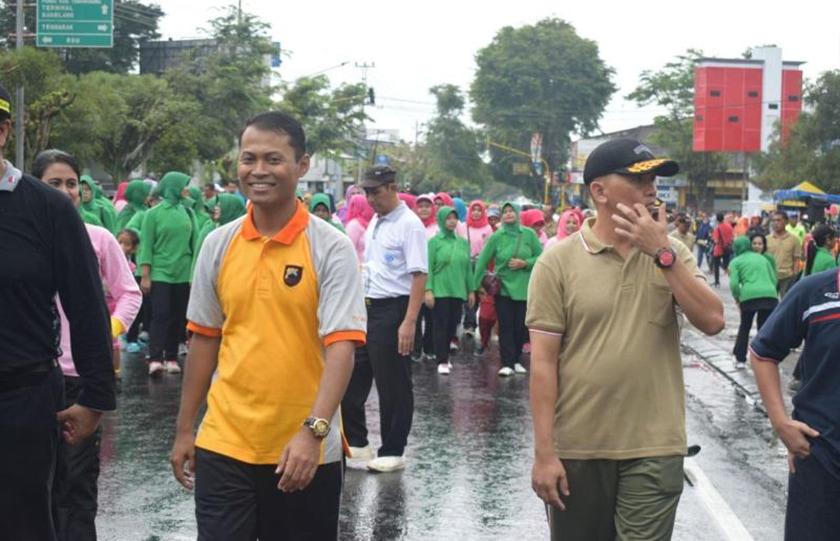 Car Free Day Olahraga Bersama TNI, Polri dan Pemda