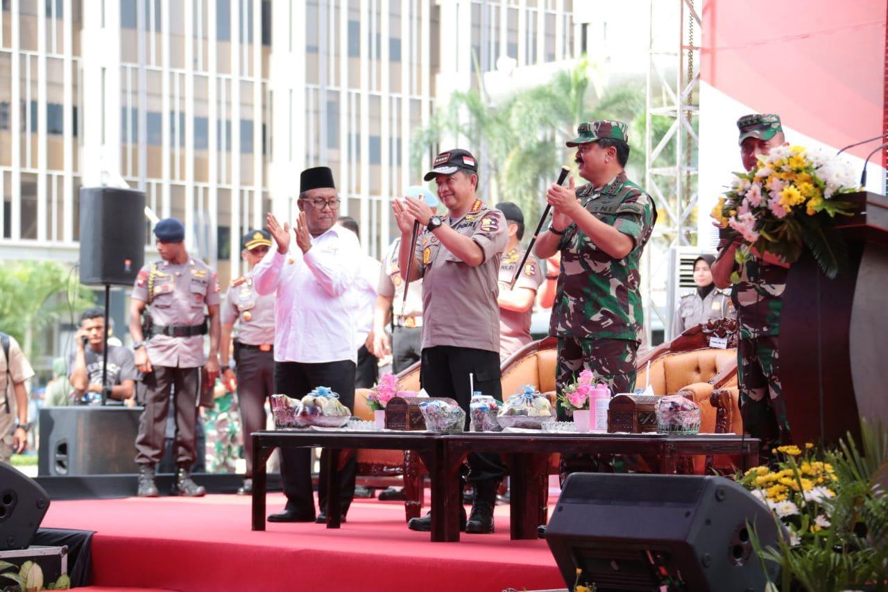 Panglima TNI : Kokohnya Sinergitas dan Soliditas TNI-Polri Dapat Mewaspadai Dampak Global