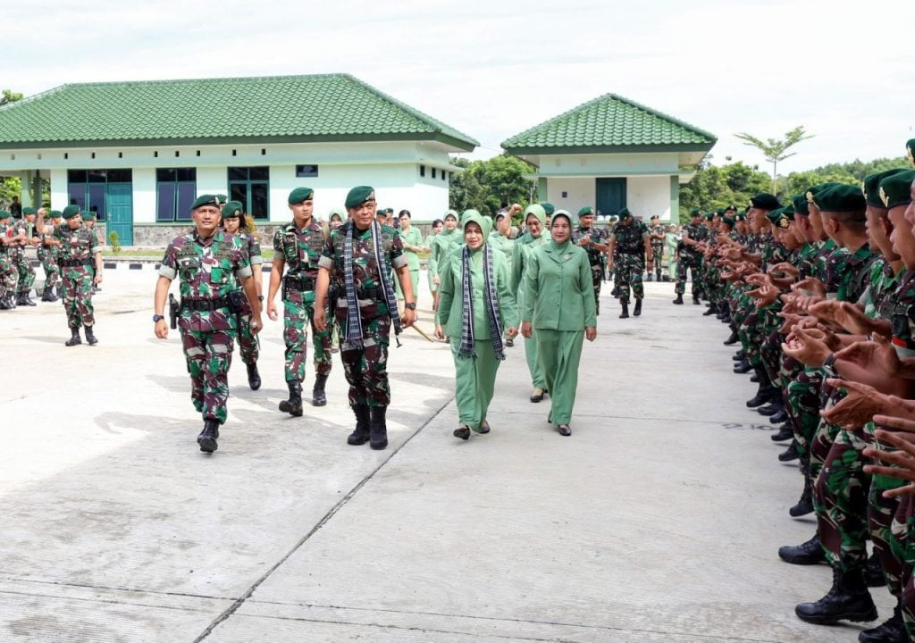 Pangkostrad Mengunjungi Batalyon Mandala Yudha Kostrad