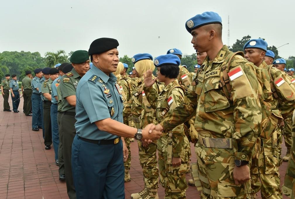 Panglima TNI : Jaga Kepercayaan dan Kehormatan Dalam Mengemban Tugas Internasional