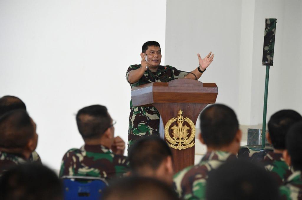 Sukseskan Latihan PPRC 2018, Ratusan Prajurit TNI Gelar Briefing Pelaku