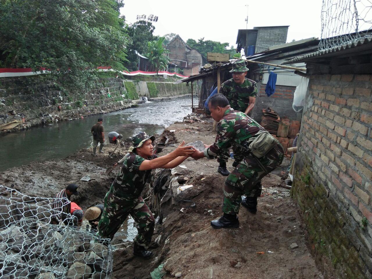 Melalui TMMD, TNI Bersihkan Daerah Penyangga Pariwisata