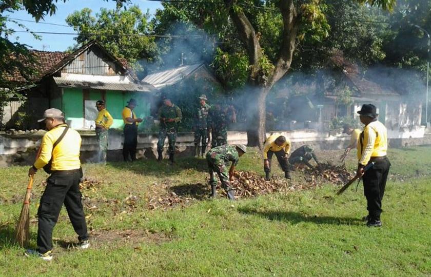 Kodim Bersama Polres Jombang Matangkan Pembukaan TMMD ke-101