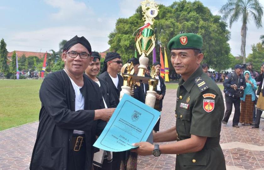 Kodim 0716/Demak Juara Lomba Kebersihan Tingkat Kabupaten Demak
