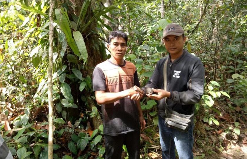 Granat Tangan Temuan Warga di Perbatasan Sudah Diamankan TNI