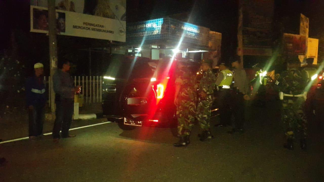 TNI-Polri Pacitan Gelar Razia Gabungan