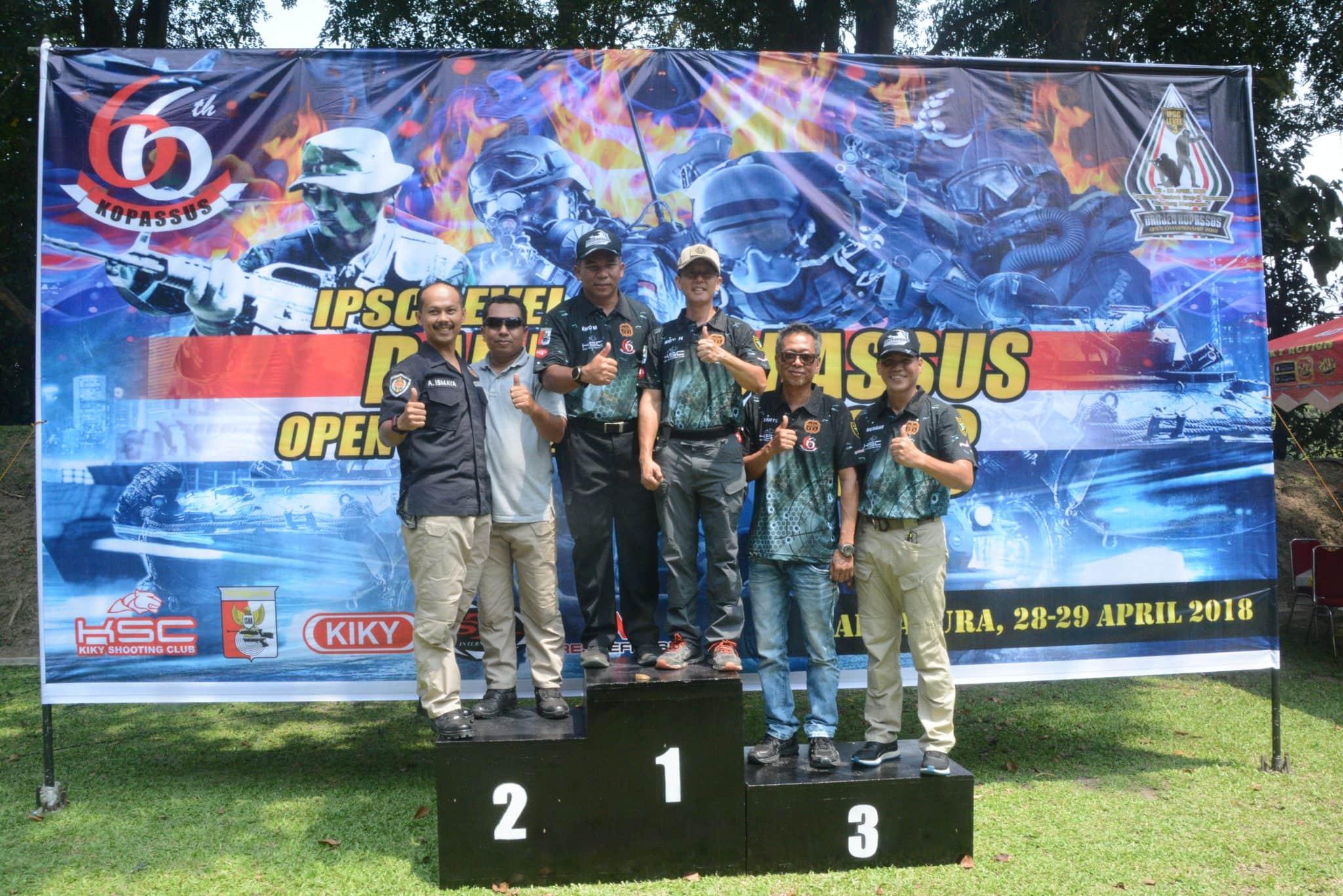 Partisipasi Danrem 074/Warastratama Dalam Lomba Tembak Danjen Kopassus Cup Open Championship