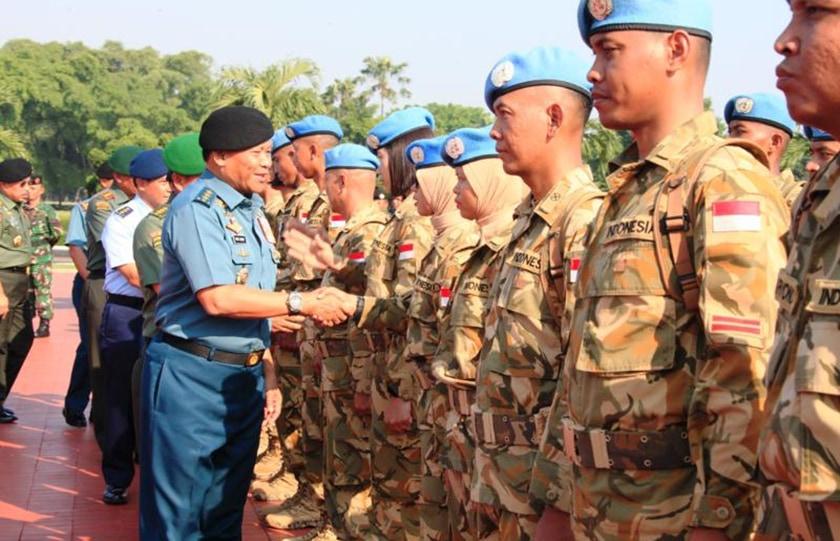 Panglima TNI: Prajurit TNI Berhasil Mengemban Tugas Sebagai Diplomat Bagi Bangsa dan Negara