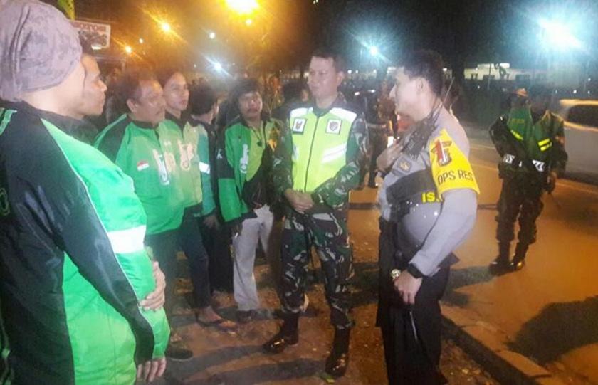 Wujudkan Rasa Aman, '3 Pilar' Kota Bekasi Gelar Patroli Bersama