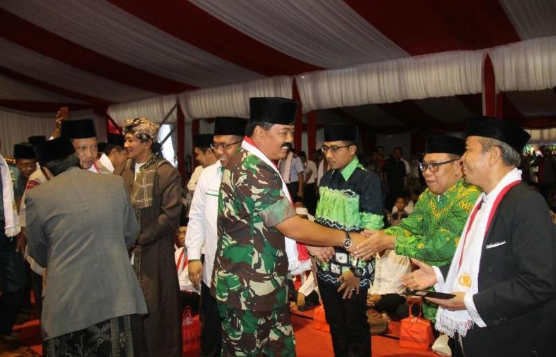 Panglima TNI: Silaturahmi yang Erat, Jadikan Indonesia Tetap Bersatu