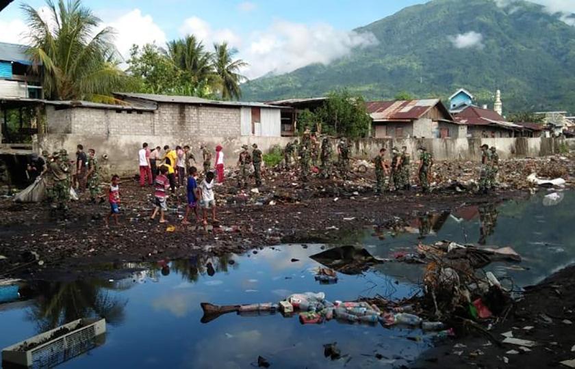 TNI-Polri Malut Laksanakan Pembersihan di Tiga Kecamatan