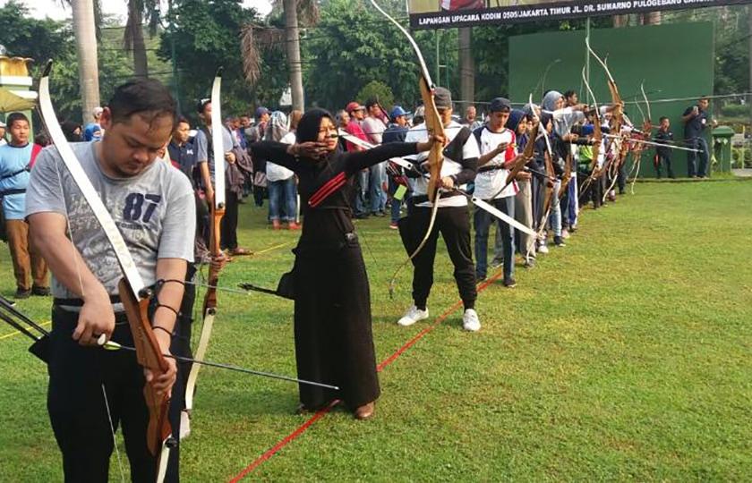 """Dandim 0505 Archery Competition 2018"", Bangkitkan Minat Pelajar Terhadap Panahan"