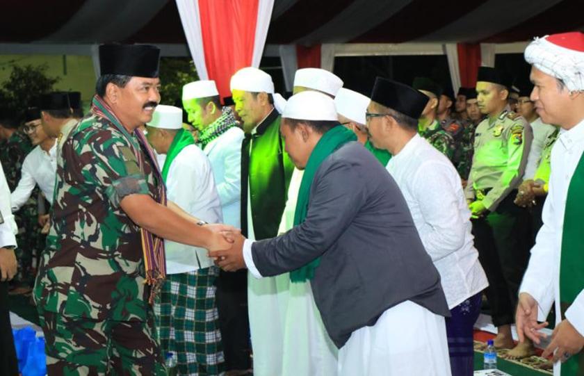 Panglima TNI: TNI dan Polri Kekuatan Besar Jaga Keutuhan NKRI