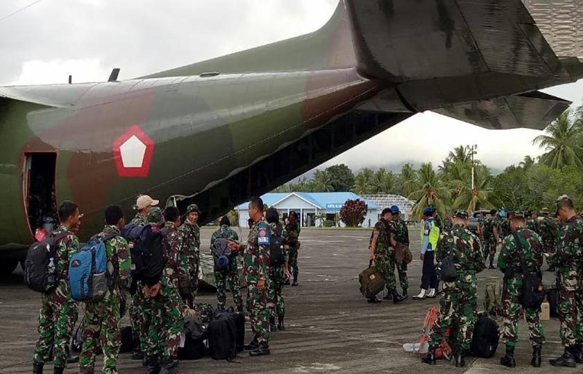 Ribuan Personel Pendukung Latihan PPRC Diberangkatkan Ke Morotai