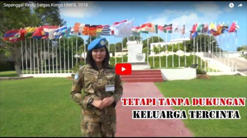 Sepenggal Rindu Satgas Konga UNIFIL 2018