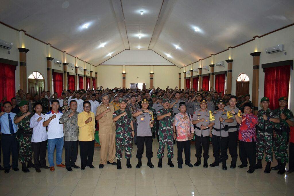 Pangdam XII/Tpr: Satu Sikap TNI-Polri Dalam Pesta Demokrasi Adalah Netralitas