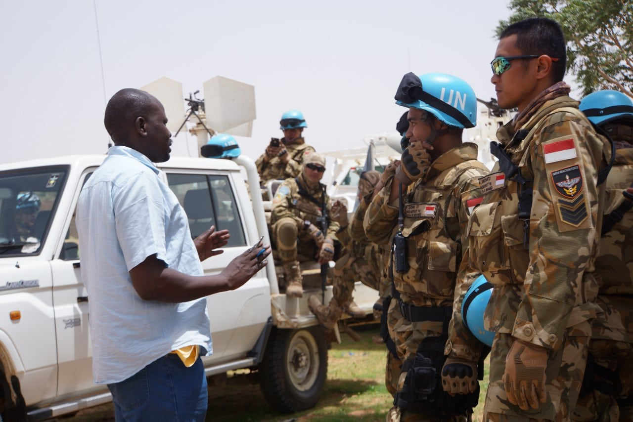 Satgas UNAMID Gelar DDR Exercise