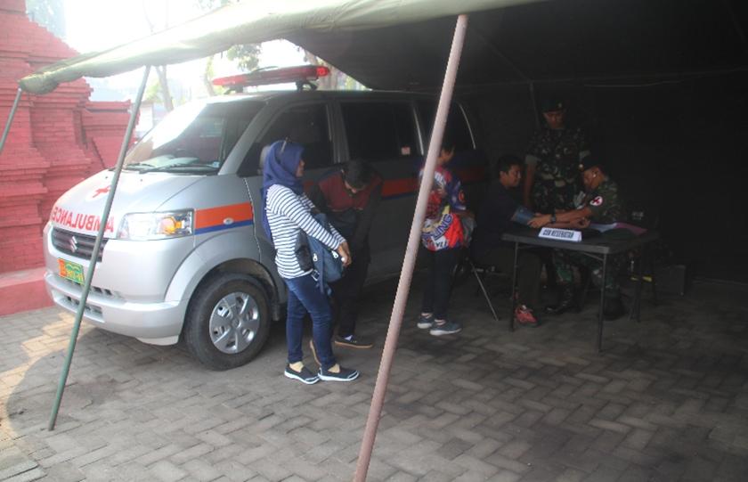 Arus Balik Lebaran, Para Raider 503 Kostrad Sediakan Rest Area