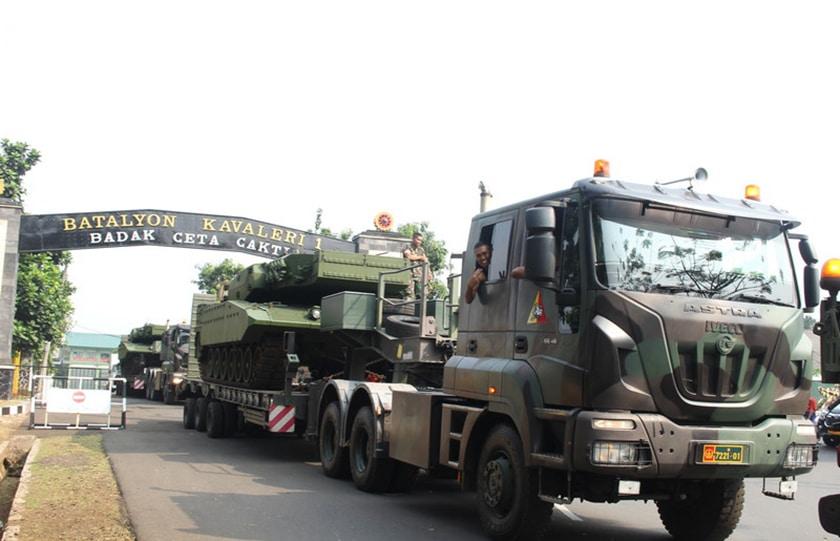 Lima Unit MBT Leopard 2 RI, Bergeser Dari Yonkav 1 Kostrad ke Yon Mandala Yudha Kostrad