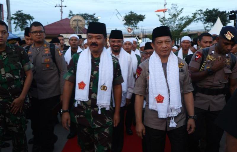 Panglima TNI dan Kapolri Safari Ramadhan di Mapolresta Samarinda