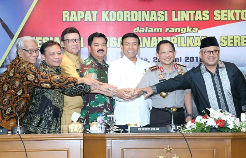 Panglima TNI: TNI Siap Amankan Jalannya Pilkada Serentak dan Jaga Netralitas