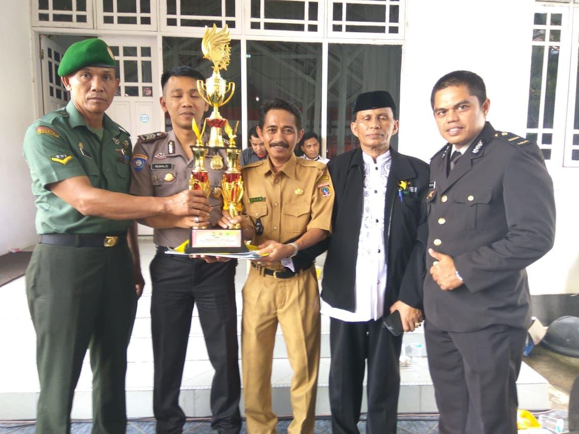 Anggota Kodim 1402/Polmas, Juara Implementasi 4 Pilar HUT ke-72 Bhayangkara
