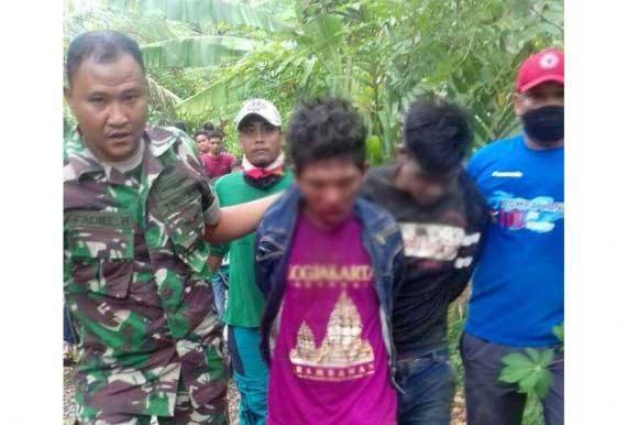 Seorang Kopral di Aceh, Tangkap Penjambret