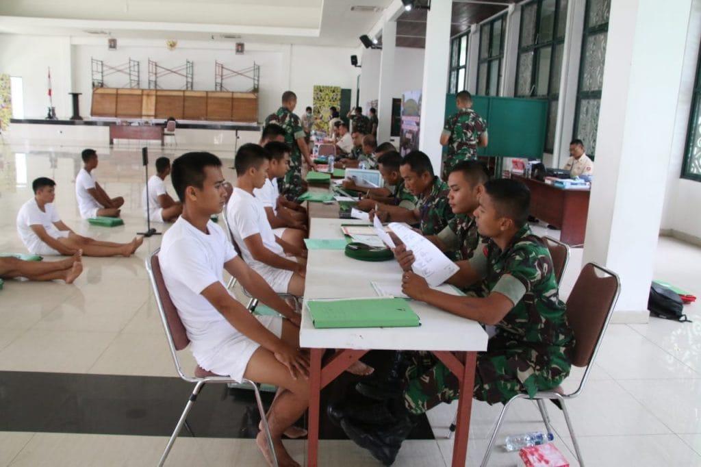 Putra Asli Daerah Ikuti Seleksi Calon Bintara TNI di Korem 091/ASN