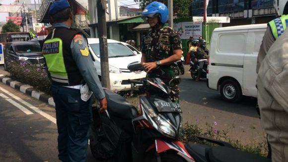 Pomdam Jaya Gelar Razia Gabungan di Jakarta Pusat