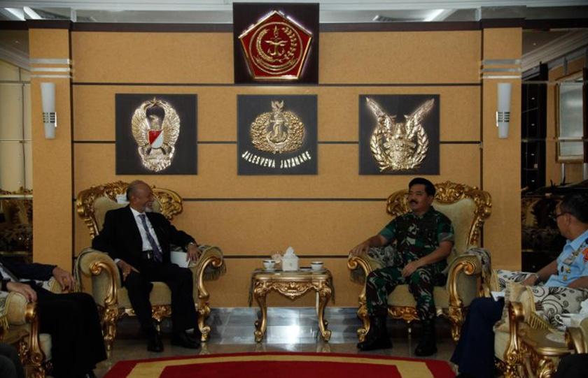 Panglima TNI Terima Audiensi Wali Nanggroe Aceh