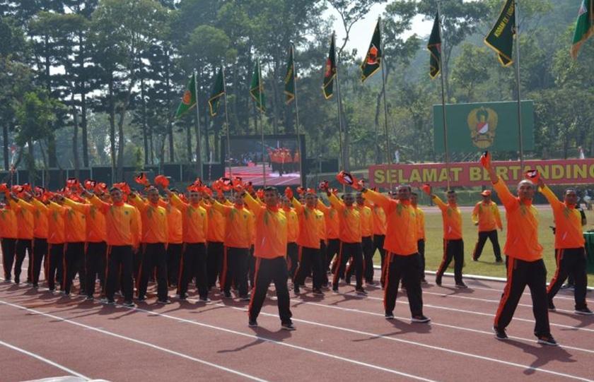 Kontingen Kodam Jaya Siap Jaga Kehormatan di PORAD Ke VIII Tahun 2018