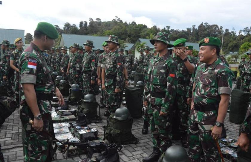 Jaga Perbatasan, 450 Prajurit Dikirim ke 52 Pos Pamtas RI-Malaysia