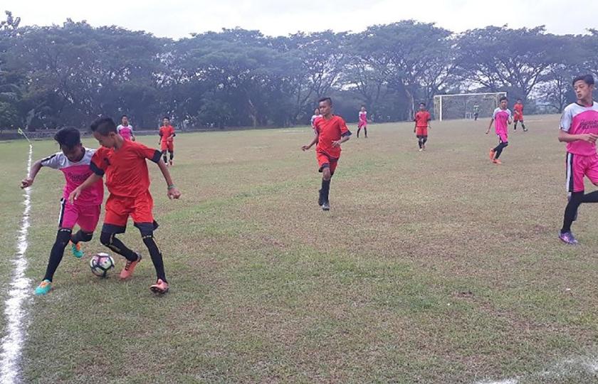 Liga Pelajar Piala Menpora se-Jawa Timur, Pakai Lapangan Brigif Kostrad