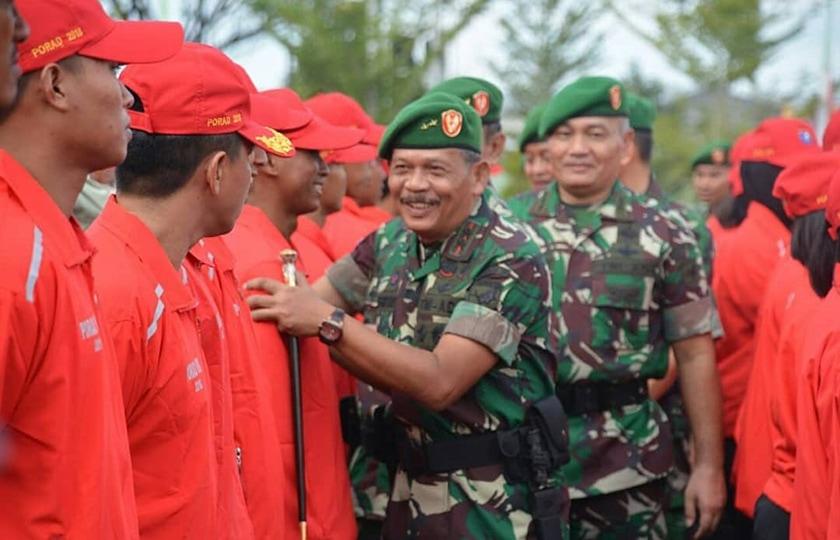Mayor Jenderal TNI Achmad Supriyadi : Atlet Kodam XII/Tanjungpura Multiguna