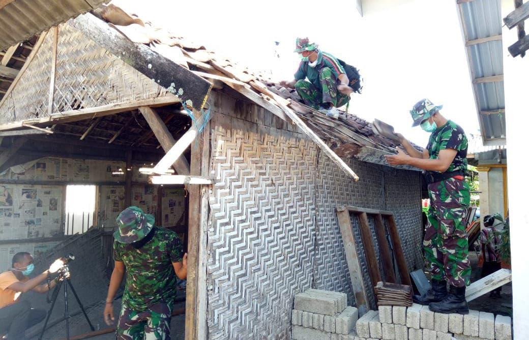 TNI AD Mulai Rehab Rumah Zohri, Sinergitas Komponen Bangsa