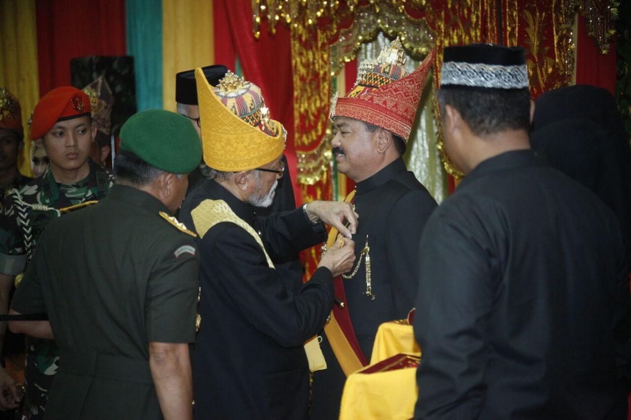 """Panglima TNI Dianugerahi Gelar Kehormatan Adat Aceh """"Sri Lela Wangsa"""""""