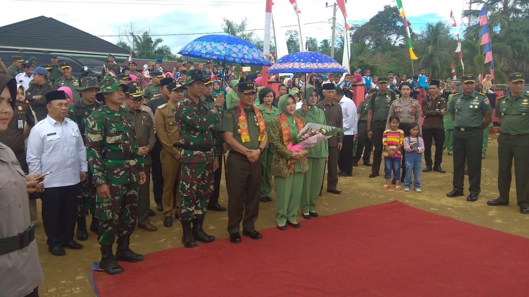 Wakasad Tutup TMMD Reguler 102 Di Bengkulu Tengah