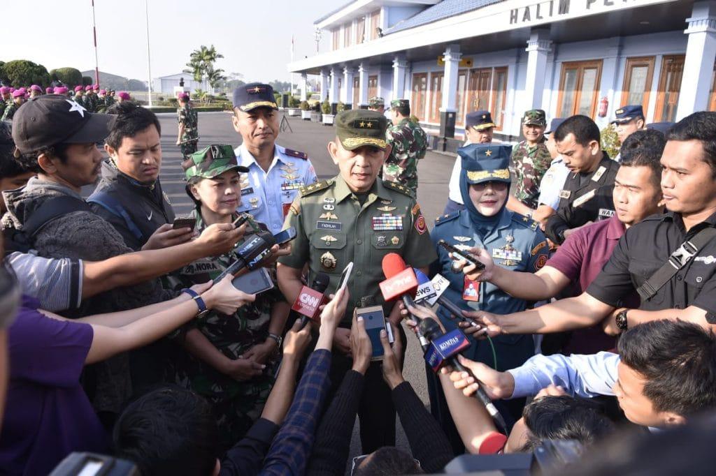 Panglima TNI Apresiasi Aksi Heroik Babinsa Koramil Klaten