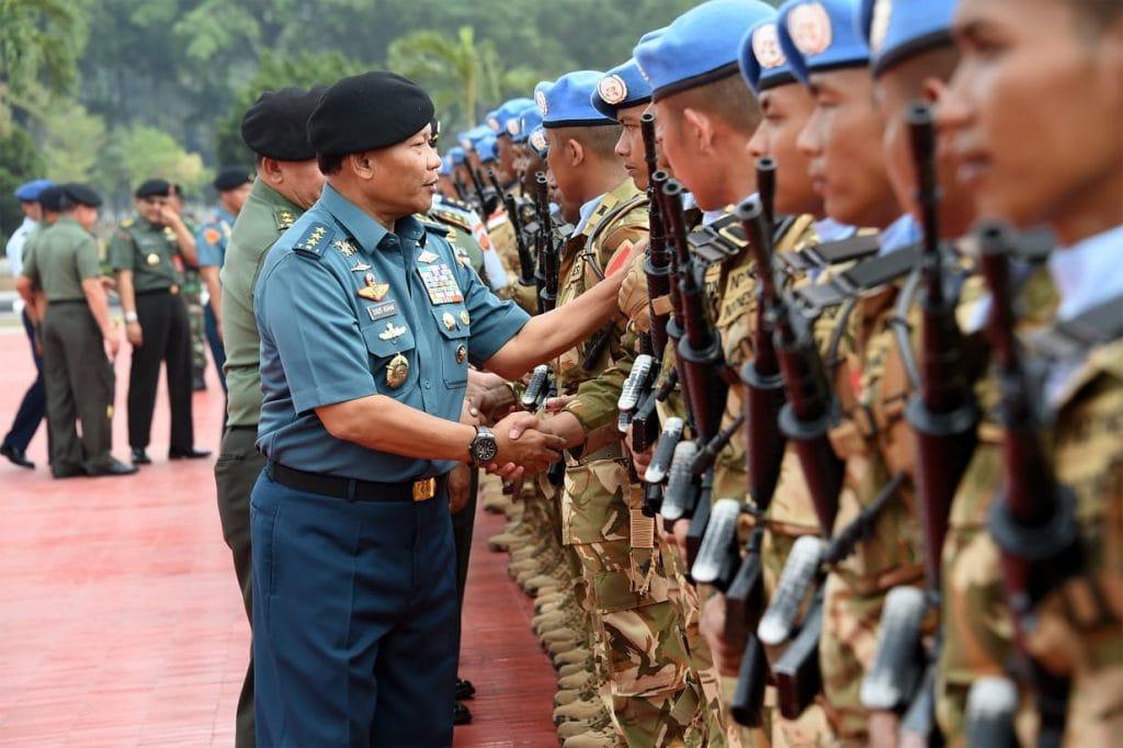 Panglima TNI: Prajurit TNI Harus Menjaga Kepercayaan Mengemban Tugas Negara di Kancah Internasional