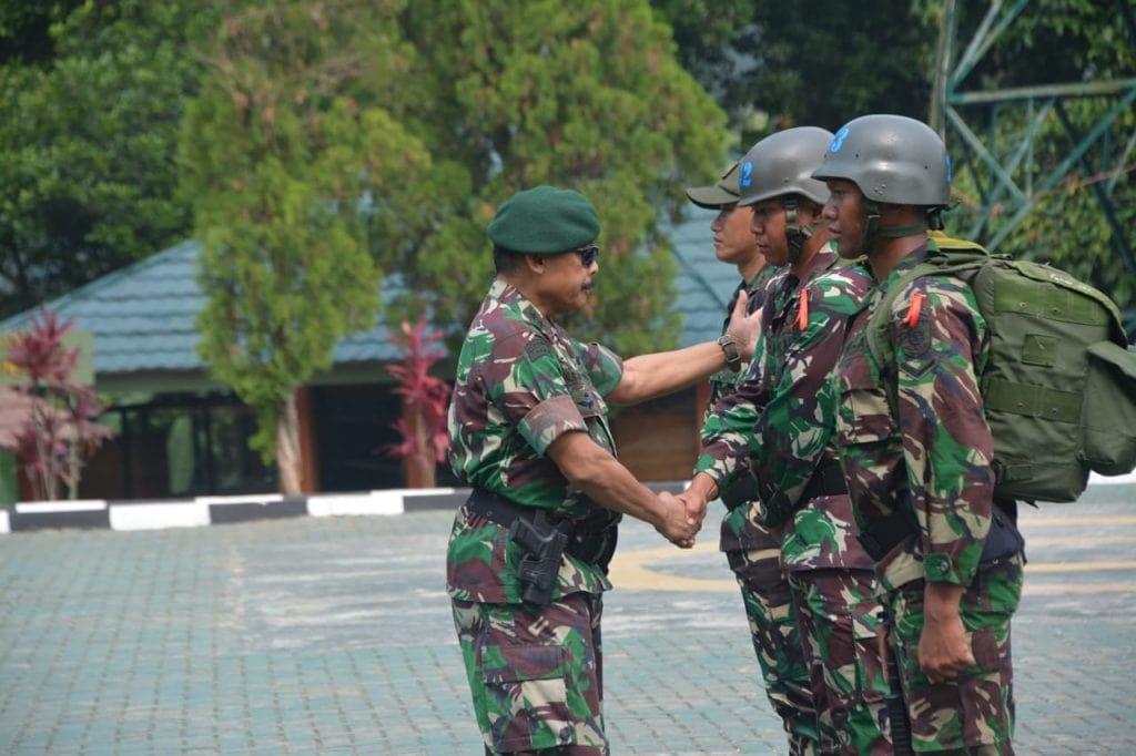 Latihan Standarisasi Prajurit Kostrad Gelombang VI TA. 2018 Dimulai